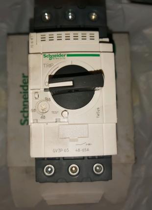 Автоматический выключатель защиты электродвигателей 48...65Ампер