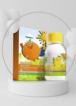 Мультивитамины, минералы и Омега-3 для детей