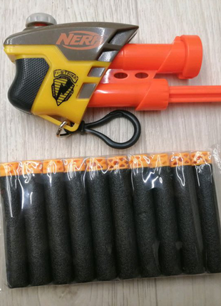 Бластер-брелок Нерф Секрет Страйк Nerf Secret Strike AS-1+10 пуль