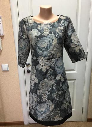 Платье женское офисное coconuda жаккардовое код С-1829