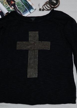 Черный свитер amisu