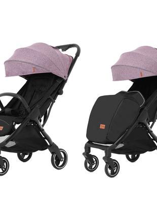 Прогулочная коляска Carrello Turbo CRL-5503 Grape Pink с дождевик