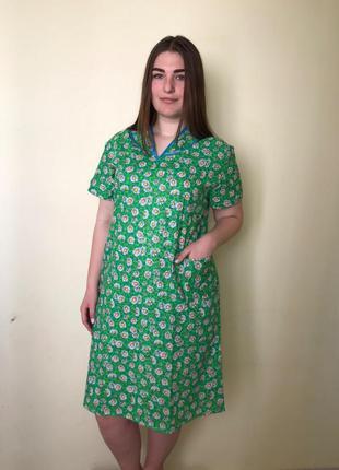 Ситцевый халат, в наличии размеры и расцветки