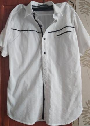 Молодіжна сорочка на короткий рукав