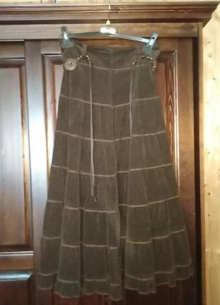 Шикарна юбка з ременем