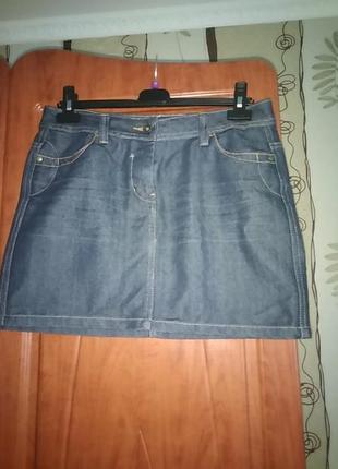Фірмена джинсова юбка