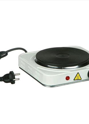 Плита электрическая  1000 Ватт — компактная одноконфорочная плита