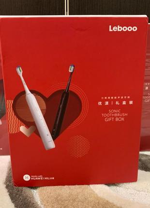 Комплект умных зубных щеток Lebooo FA Huawei HiLink Black/Whit...