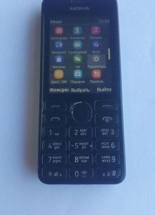 Кнопочный мобильный телефон Nokia 206 оригинал
