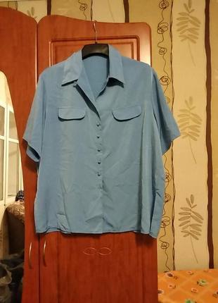 Блузка-сорочка шовкова