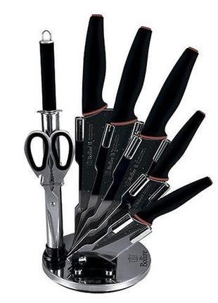 Набор кухонных ножей на подставке MILANO 6 пр BOLLIRE BR-6011