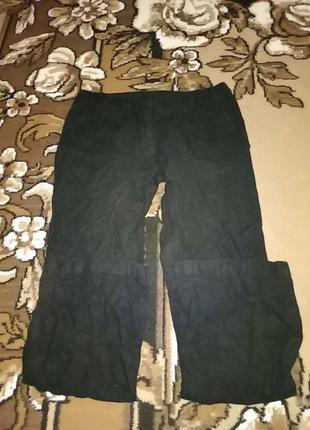Льяні штани під джинси
