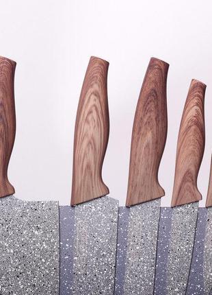 Набор ножей на подставке KAMILLE KM-5045
