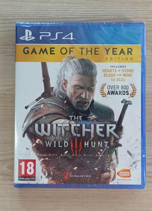 The Witcher 3: Wild Hunt - Game of the Year Edition PS4 Рус. верс