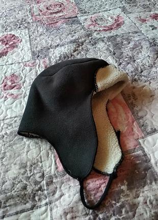 Натуральна шапка-ушанка