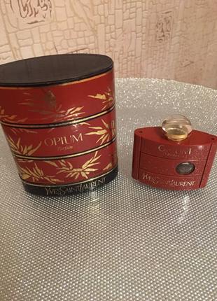 Винтаж.Флакон в коробочке Yves Saint Laurent Opium
