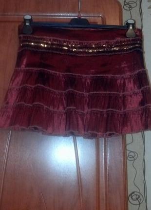 Прикольная  юбка