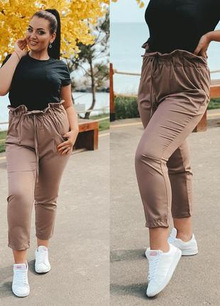 Штаны большого размера, штаны плюс сайз, штани батал, брюки же...