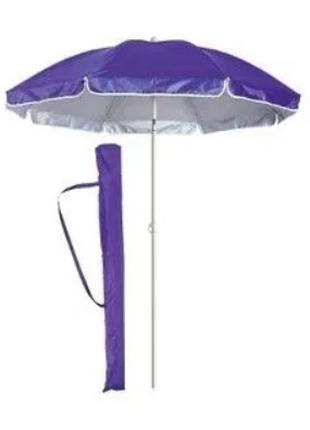 Пляжный зонт с защитой от УФ излучения и наклоном В чехле D 200 с