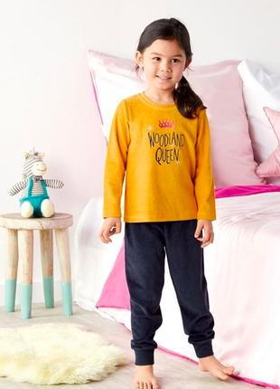 Бархатная пижама для маленькой принцессы