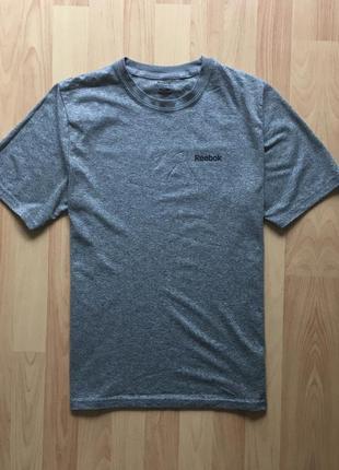Чоловіча спортивна футболка reebok мужская спортивная