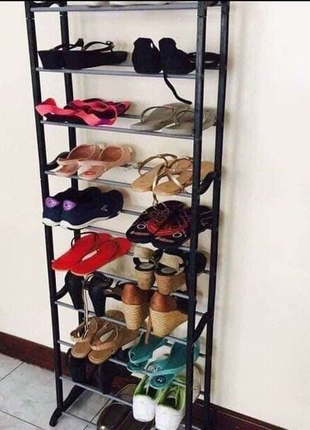 Полка для обуви на 30 пар Amazing Shoe Rack