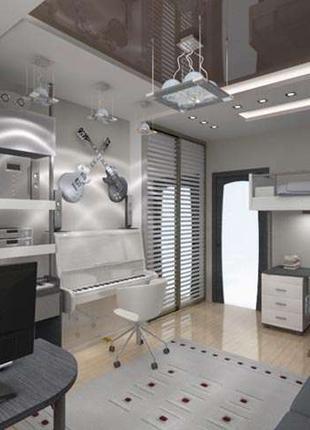 2-комнатная квартира в стиле хай-тек на Вишневой!