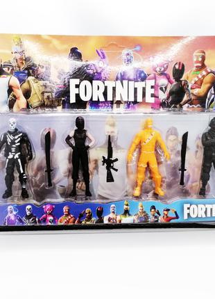 Фигурки Фортнайт Fortnite в подарочном блистере 4 шт герои игры