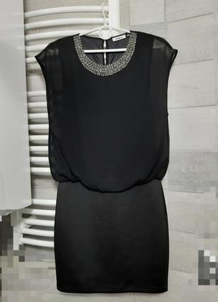 Нарядное красивое коктейльное вечернее платье мини