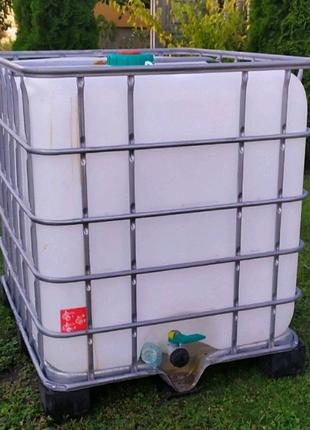 Еврокуб - чистая кубовая 1000л