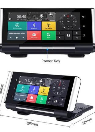 "Видеорегистратор Android K6 на торпеду 7"" Full HD GPS 4G/3G WiFi"