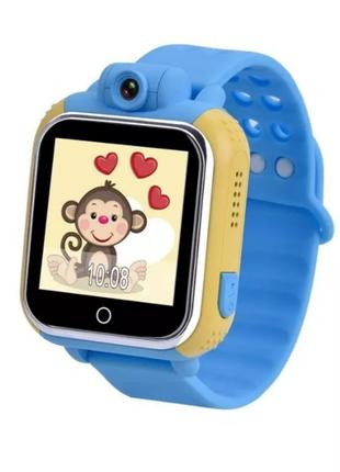 Детские смарт часы с GPS трекером Smart Baby Watch Q730 (Q200)