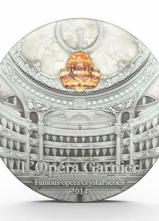 10 долларов Палау 2014.Первая монета серии -Опера.2 унции серебра