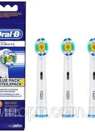 Oral-B ирригатор, насадки 3D White EB18 для зубной щетки  3 шт
