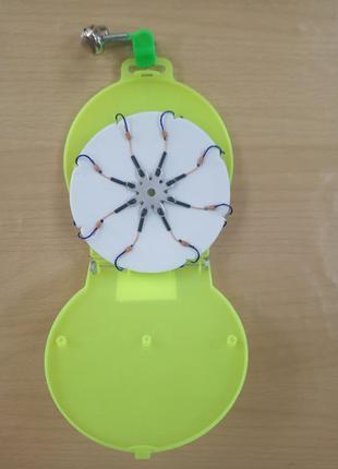 Набор рыболовных крючков паук 8шт. в диске
