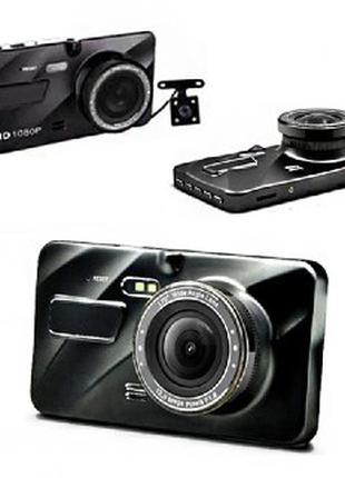 """Видеорегистратор А10 Full HD 1080P 4"""" 2 камеры"""