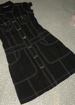 Стильное платье 10-11 лет
