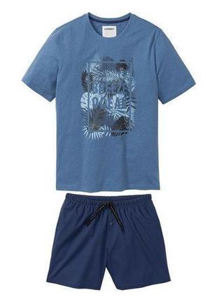 Батал! летняя пижама домашний костюм livergy германия 60-62