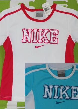 Футболки спортивные Nike для девочек и мальчиков, распродажа