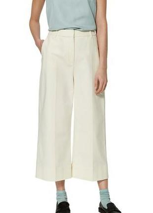 Новые,красивые брюки,кюлоты,штаны укорочённые,капри без подкла...
