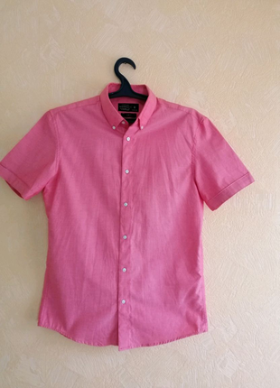 Рубашка летняя розовая