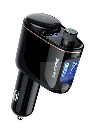 Автомобильное ЗУ зарядка Bluetooth FM модулятор 3.4A 2USB
