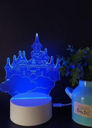 Детский ночник Robovan 3D LED лампа на подарок