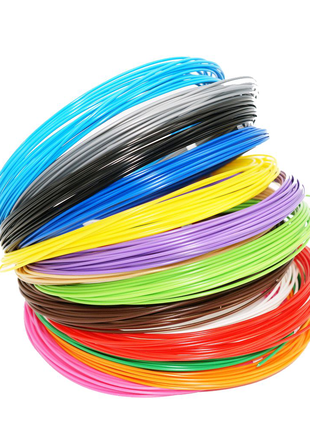 Набор разноцветного ABS пластика для 3D ручки