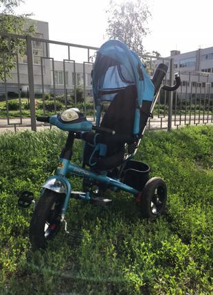 Детский трехколесный велосипед-коляска Best Trike