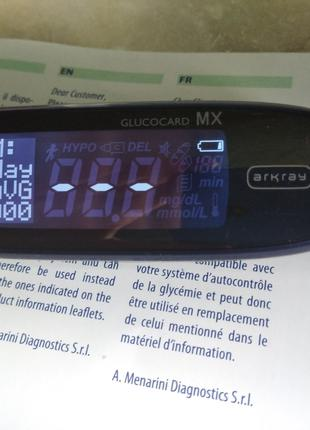 Глюкометр glucocard mx
