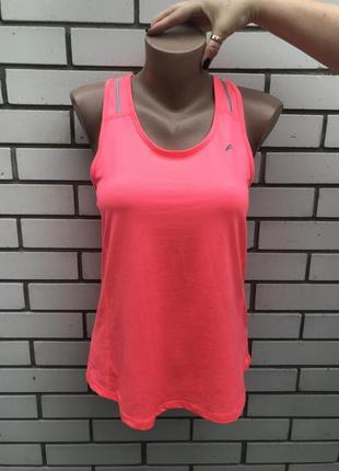 Розовая,неоновая ,спортивная майка,футболка  f&f