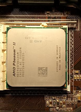 Процессор AMD Phenom II X4 965