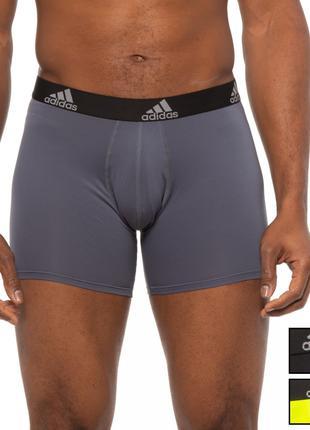Трусы мужские adidas climalite набор 3 штуки оригинал из сша