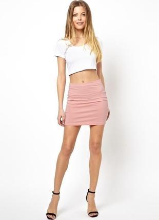 Новая,юбка-карандаш по фигуре,офисная,вискоза,без подкладки asos